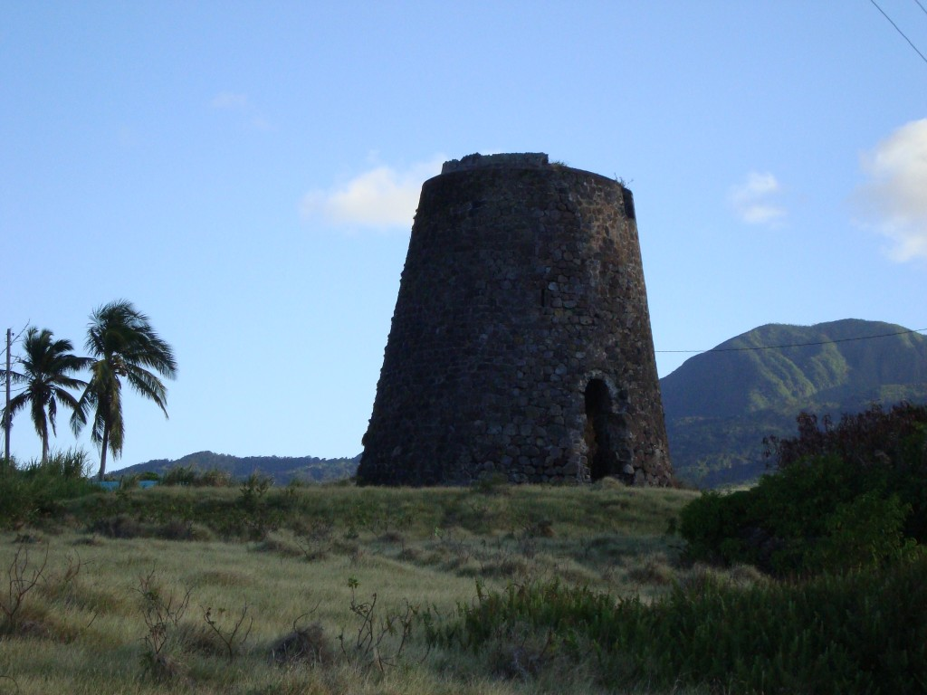 """St. Kitts sugar mill image"""