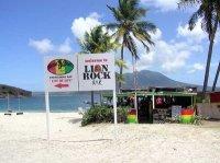 lion rock beach bar Diving St. Kitts